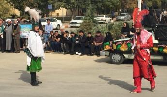 تعزیه حضرت ابوالفضل(ع) در دانشگاه آزاد همدان برگزار شد